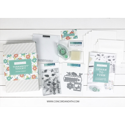 RESERVE Concord & 9th EVERYDAY BOUQUET TURNABOUT TOOLKIT 10539 Preview Image