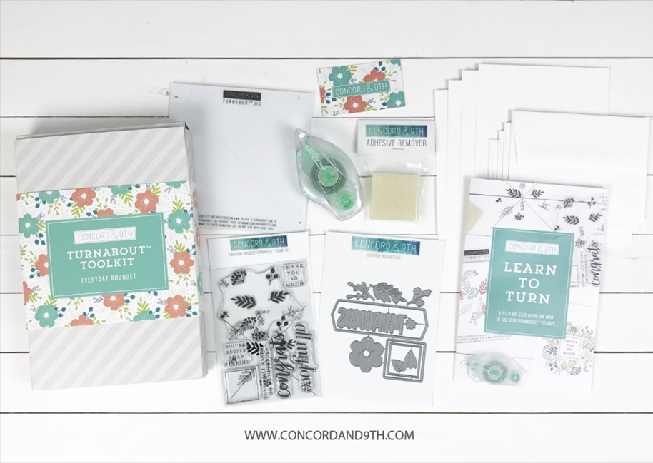 Concord & 9th EVERYDAY BOUQUET TURNABOUT TOOLKIT 10539 zoom image