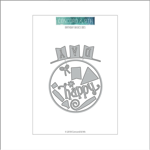 RESERVE Concord & 9th BIRTHDAY BASICS Die Set 10544 Preview Image