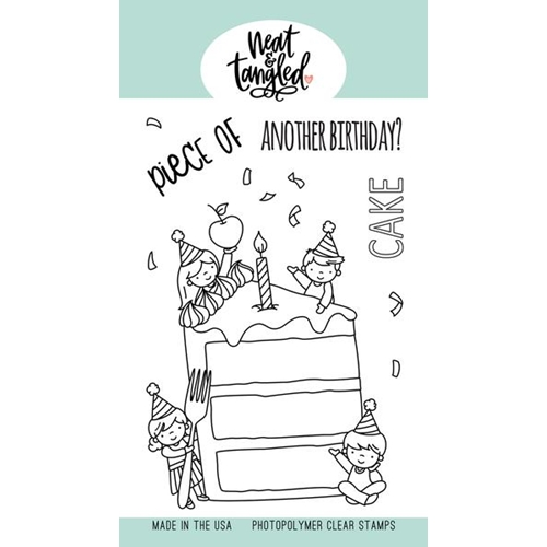 Neat and Tangled PIECE OF CAKE Clear Stamps NAT447 Preview Image