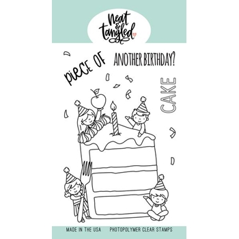 Neat and Tangled PIECE OF CAKE Clear Stamps NAT447