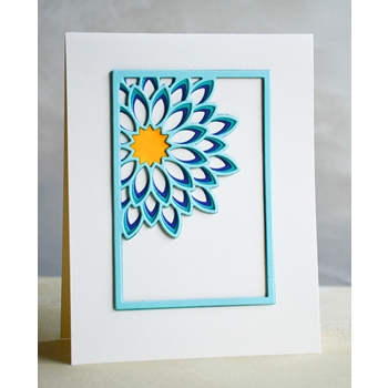 Birch Press Design DAHLIA MINI FRAME LAYER SET Craft Dies 56092
