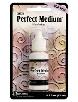 Ranger PERFECT MEDIUM REINKER Refill Pearls Clear Ink PPP16212