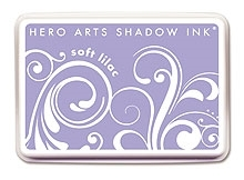 Hero Arts SHADOW Ink Pad SOFT LILAC Purple AF134