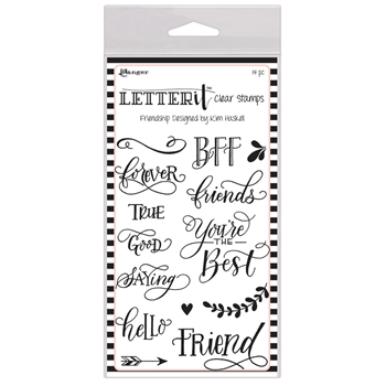 Ranger FRIENDSHIP Letter It Stamp Set lec65791