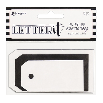 Ranger TAG ASSORTMENT Letter It les63902