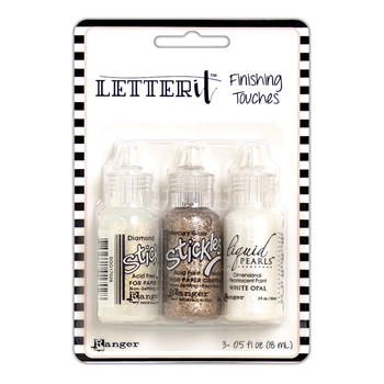 Ranger GLAM SET Letter It Finishing Touches lef65890
