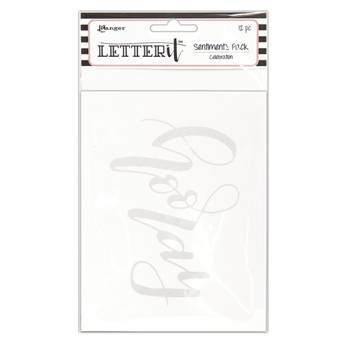 Ranger CELEBRATION Letter It Sentiment Pack lea65265 Preview Image