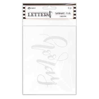 Ranger CELEBRATION Letter It Sentiment Pack lea65265