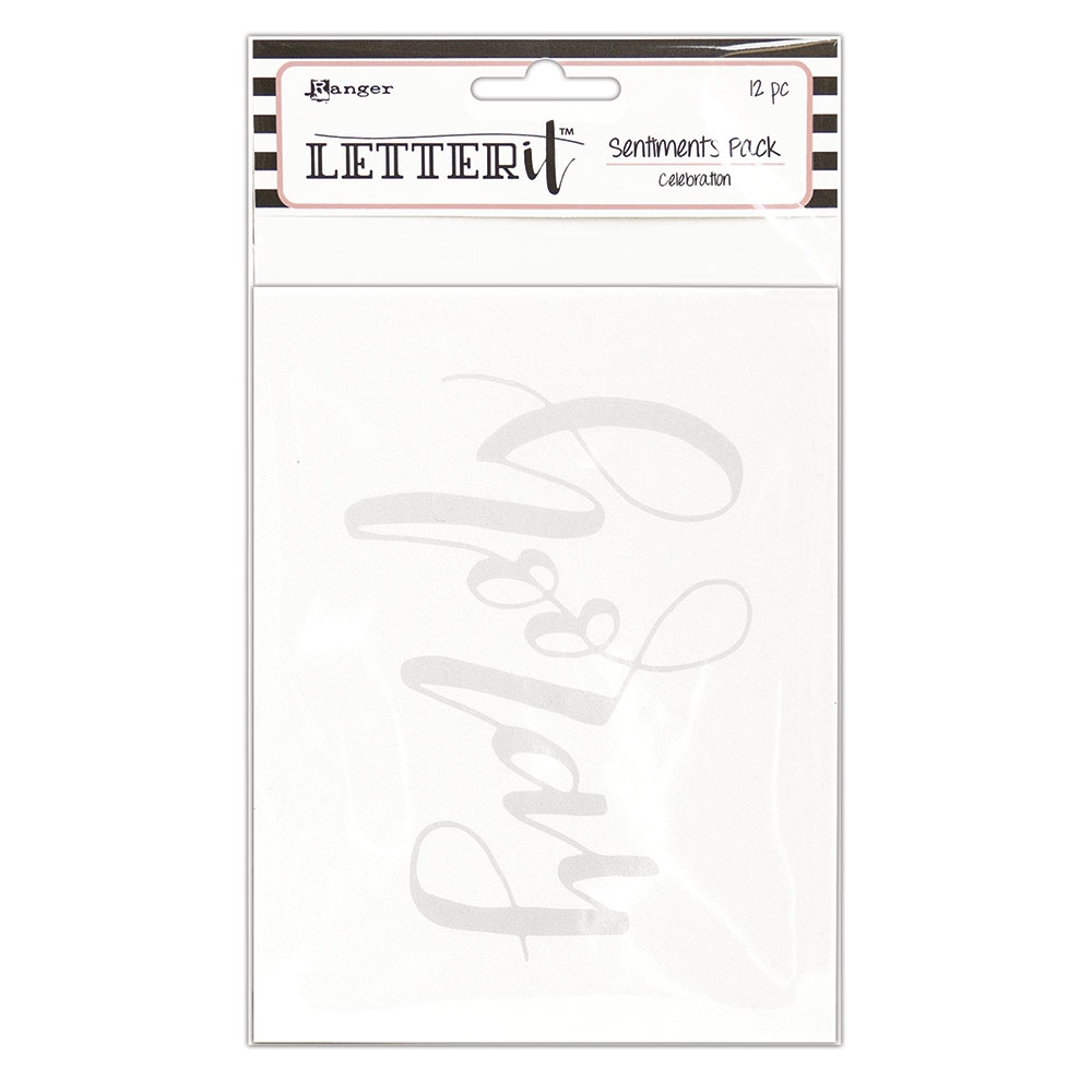 Ranger CELEBRATION Letter It Sentiment Pack lea65265 zoom image