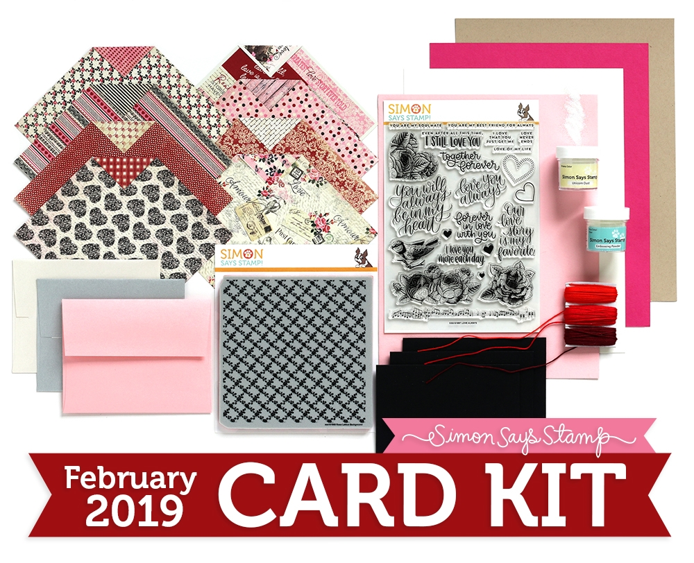 Simon Says Stamp February 'Love Always' Card Kit