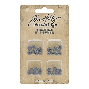 RESERVE Tim Holtz Idea-ology HARDWARE HEADS th93788