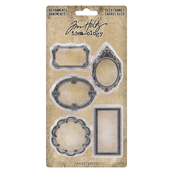 RESERVE Tim Holtz Idea-ology DECO FRAMES Adornments th93792