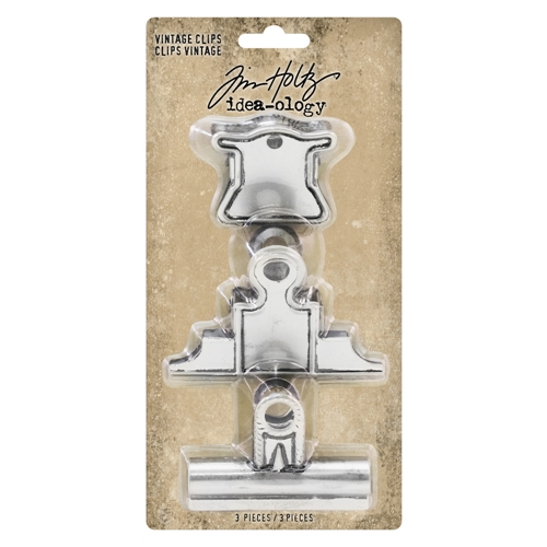 RESERVE Tim Holtz Idea-ology VINTAGE CLIPS th93795 Preview Image