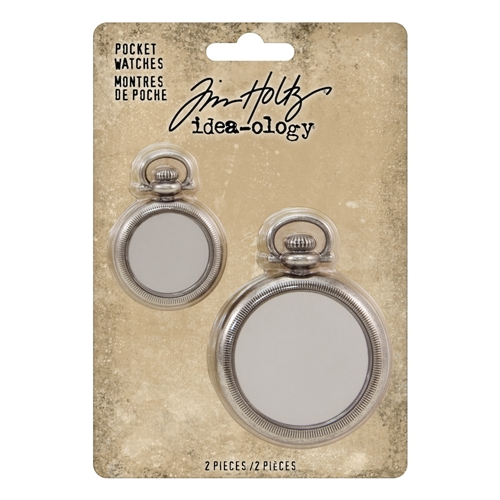 RESERVE Tim Holtz Idea-ology POCKET WATCHES th93960 Preview Image
