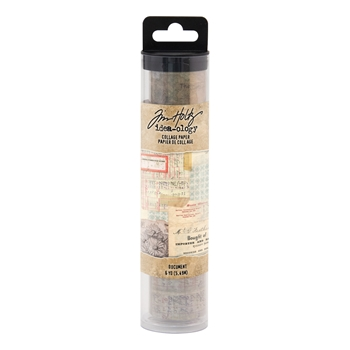 Tim Holtz Idea-ology DOCUMENT Collage Paper th93951