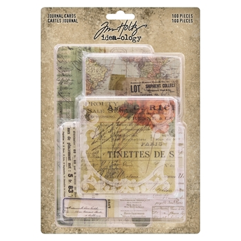 RESERVE Tim Holtz Idea-ology JOURNAL CARDS th93957
