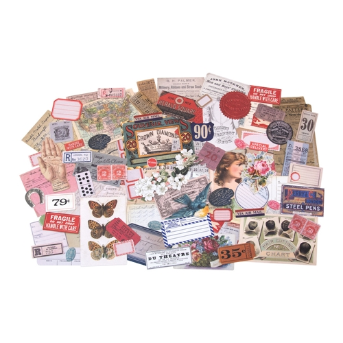 RESERVE Tim Holtz Idea-ology KEEPSAKES Ephemera th93958 Preview Image