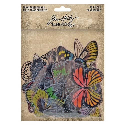 Tim Holtz Idea-ology TRANSPARENT WINGS th93785 Preview Image