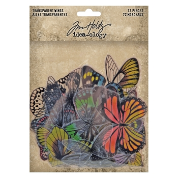 RESERVE Tim Holtz Idea-ology TRANSPARENT WINGS th93785
