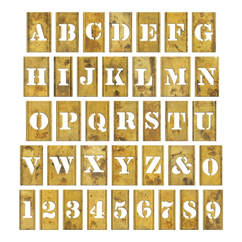 RESERVE Tim Holtz Idea-ology STENCIL CHIPS th93954 Preview Image