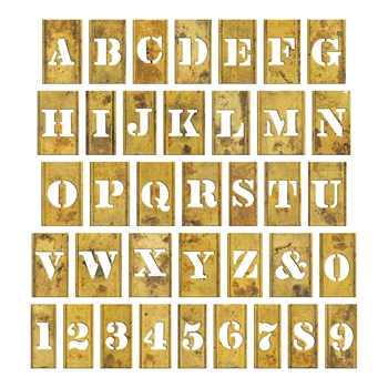 Tim Holtz Idea-ology STENCIL CHIPS th93954