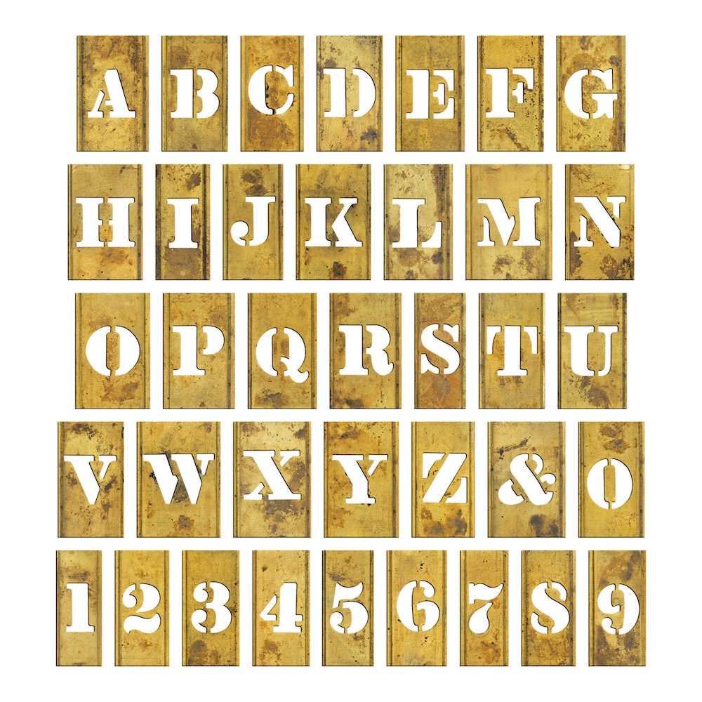RESERVE Tim Holtz Idea-ology STENCIL CHIPS th93954 zoom image