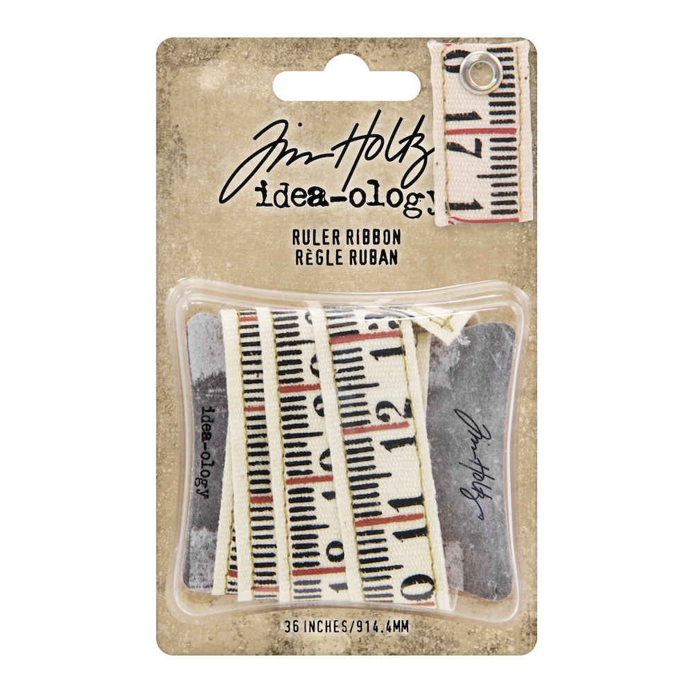RESERVE Tim Holtz Idea-ology RULER RIBBON th93955 zoom image