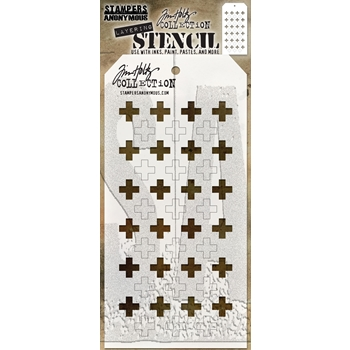 Tim Holtz Layering Stencil SHIFTER PLUS THS122
