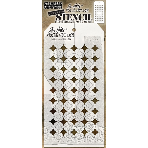 Tim Holtz Layering Stencil SHIFTER BURST THS120 Preview Image