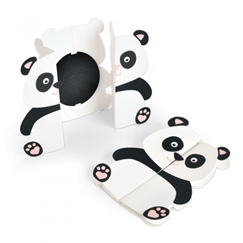 Sizzix PANDA FOLD A LONG Thinlits Die Set 663574