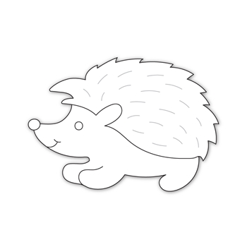 Simon Says Stamp HEDGEHOG Wafer Die sssd111964