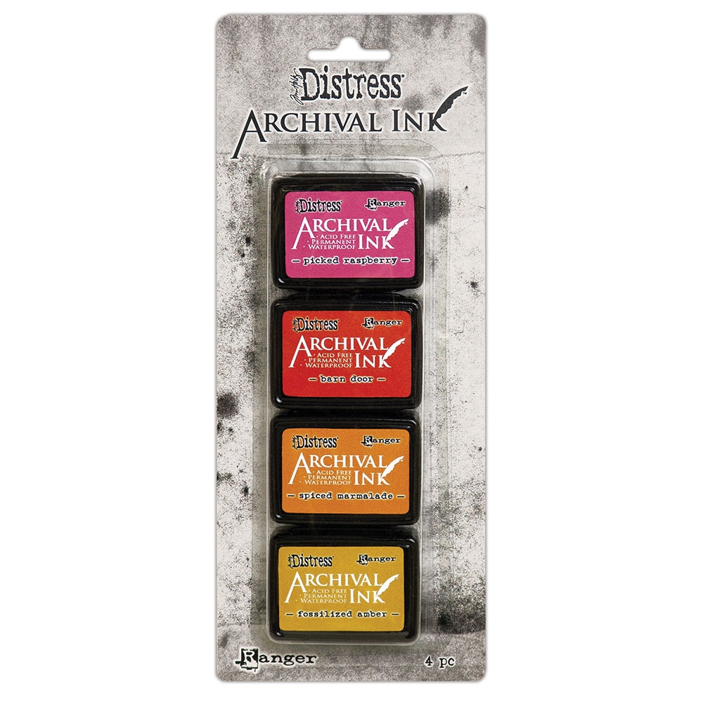Tim Holtz Archival Mini Ink Set 1