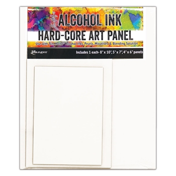 RESERVE Tim Holtz Hard Core Art Panels Rectangles Ranger tac66910