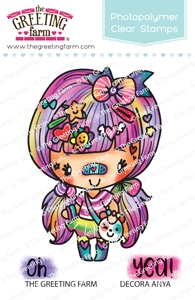 The Greeting Farm DECORA ANYA Clear Stamp TGF459