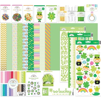 Doodlebug ST. PATRICK'S DAY VALUE BUNDLE Assortment Pack 6322