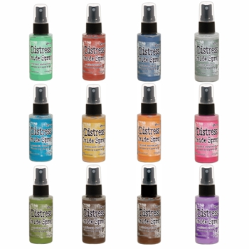 RESERVE Tim Holtz Distress Oxide Spray COMPLETE SET Ranger thoxs19