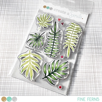 Create A Smile FINE FERNS Clear Stamps clcs102