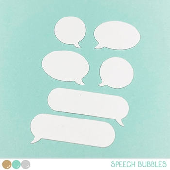 Create A Smile SPEECH BUBBLES Cool Cuts Die dcs20