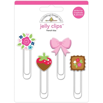 Doodlebug FRENCH KISS Jelly Clips Paper Clip 6244