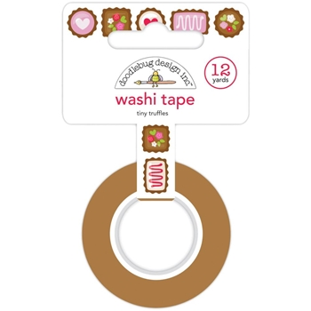Doodlebug TINY TRUFFLES Washi Tape 6213