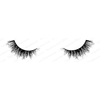 Impression Obsession Cling Stamp SWEET EYELASHES C20631