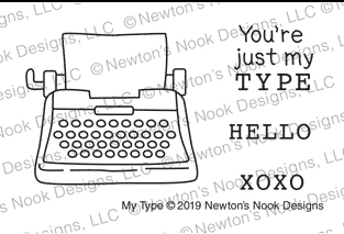 Newton's Nook Designs MY TYPE Clear Stamps NN1901S02