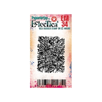 Paper Artsy ECLECTICA3 SETH APTER MINI 34 Cling Stamp em34