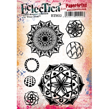 Paper Artsy ECLECTICA3 TRACY SCOTT 23 Cling Stamp ets23