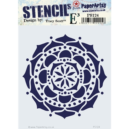 Paper Artsy ECLECTICA3 TRACY SCOTT Stencil ps124 Preview Image