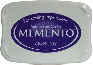 Tsukineko Memento Ink Pad GRAPE JELLY ME-500 Preview Image