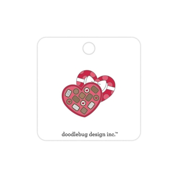 Doodlebug CHOCOLATE BOX Collectible Enamel Pin 6257