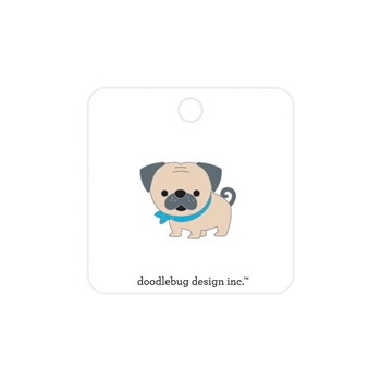 Doodlebug LOVE PUG Collectible Enamel Pin 6258