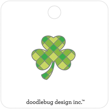 Doodlebug LOTS O' LUCK Collectible Enamel Pin 6259